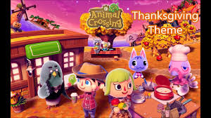 animal crossing new leaf thanksgiving theme on piano