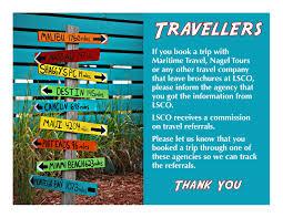 Travel with lsco lethbridge senior citizens organization