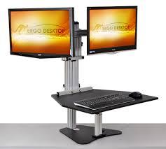 Standing Desk For Laptop by Kangaroo Elite Adjustable Height Desk Ergo Desktop