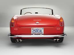 Ferrari California 1962 - the sun shines in california ferrari 250 gt swb california spyder
