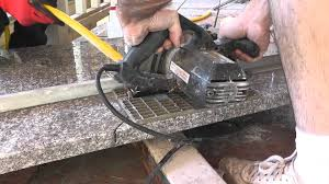 What Kind Of Saw Blade To Cut Laminate Flooring How To Install Granite Countertops On A Budget Part 3 Cut