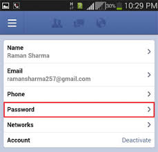change password on android phone how to change your password in android