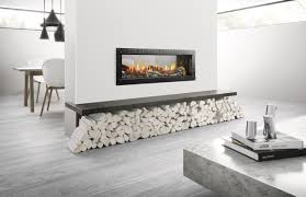 awesome long fireplaces room design decor cool with long