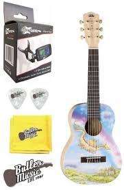 guitars musical christmas gift luna ar2 nyl dragon aurora