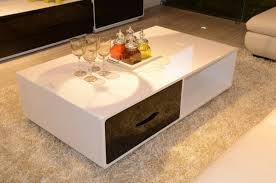 Coffee Tables With Drawers by Trendy Coffee Tables With Drawers And White Wool Rugs Nytexas
