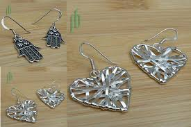 eco friendly earrings eco friendly shopping picks guilt free fair trade jewelry one