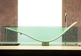 glass bathtub for sale 6 cool clear bathtubs spot cool stuff design