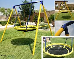 swing sets for backyard playground children round yard kids