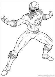 power rangers power rangers ninja storm coloring power