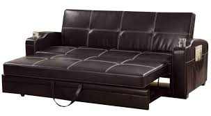 sleeper sofa leather attractive furniture leather sleeper sofa sleeper 2