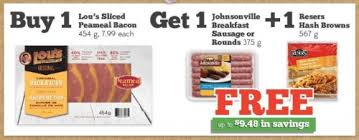 sobeys ontario free hash browns sausages when you buy lou s