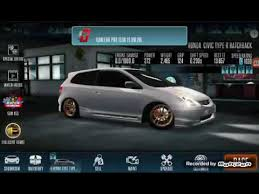 2001 honda civic type r racing in the 2001 civic type r hatchback racing rivals