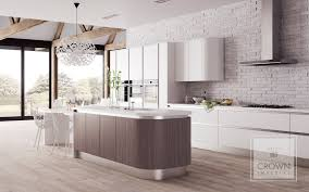 Handleless Kitchen Cabinets High Quality Crown Kitchens Supplied And Fitted By Weybridge Interiors