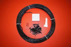 30m black 2 pair external telephone cable extension kit ebay