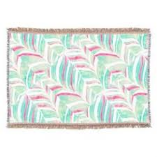 themed throw blanket teal throw blankets watercolor home decor turquoise watercolor