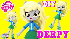custom my little pony derpy muffins equestria girls diy tutorial