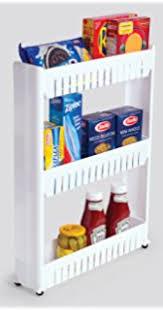 Bathroom Slimline Storage Tower by Amazon Com Trademark Innovations 28