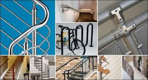 Handrail Fittings Suppliers Handrail Components Mid City Steel Steel Supplier Rebar