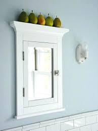 white framed recessed medicine cabinet white recessed medicine cabinet receed baket light small oval wood