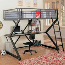 Kids Built In Desk by Coaster Fine Furniture 460092 Workstation Loft Bed With Built In