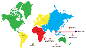 Indonesia On World Map Global Reach U2013 Sakura Tech