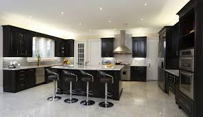 black modern metal chairs color for fabulous kitchen design with