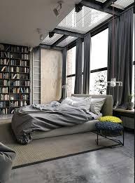 fascinating industrial loft interior design spacious interiors