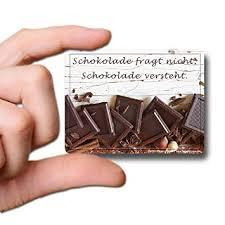 sprüche über schokolade guma magneticum 6121 kühlschrank magnete sprüche schokolade