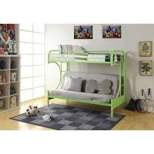 Full Over Full Futon Bunk Bed by Bunk Bed Frame The Home Depot