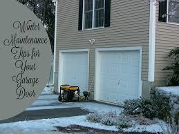 Overhead Garage Door Cincinnati by Garage Door Winter Maintenance Tips Neighborhood Garage Door