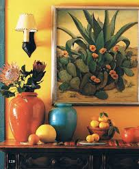 adobe hacienda house plans home decor southwestern style interior cacti and pots love this visual vignette for the home