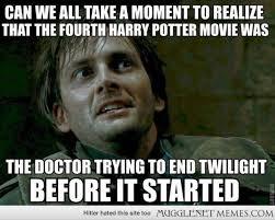 Meme Dr Who - mugglenet memes crazy harry potter doctor who twilight plot