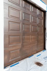 Garage Door Curb Appeal - how to paint garage doors and add curb appeal to your home all
