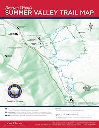 Washington Trail Maps by Alpine Trail System At Bretton Woods Nh