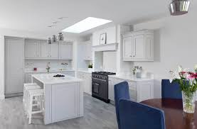 Manor House Kitchens by Classic Style Inframe Painted White And Grey Kitchen Tipperary