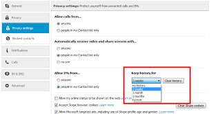 how to clear history on android delete skype chat and call history in android and pc