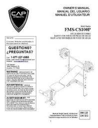 Weider Pro 240 Weight Bench Cap Barbell Standard Bench With 100 Lb Weight Set Walmart Com