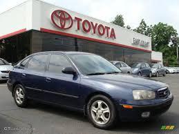 hyundai elantra 2002 model 2002 carbon blue hyundai elantra gt hatchback 11809020 gtcarlot
