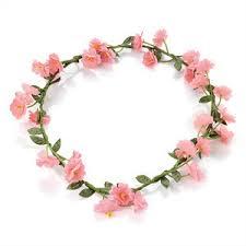 flower bands floral headband crown wedding festival garland flower power