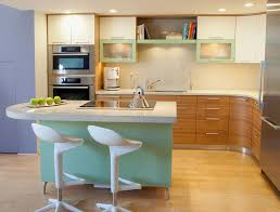 Kitchen Triangle Design With Island by Small Kitchen Island With Stools Outofhome