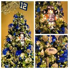 seattle seahawks 12th man christmas tree who would kill me for