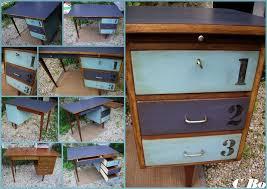 bureau customisé customiser un bureau en bois 2 customiser meuble ancien vrai