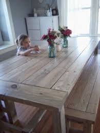 diy farmhouse table and bench rustic farmhouse table rustic