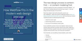 modern web design the modern web design process product hunt