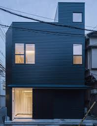 minimalist tokyo house does double duty as home and office curbed