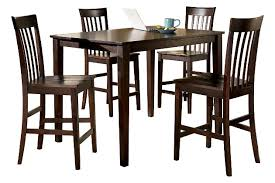 Dining Room Table Counter Height Hyland Counter Height Dining Room Table And Bar Stools Set Of 5