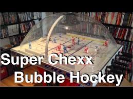 Dome Hockey Table Super Chexx Bubble Hockey Review U0026 Gameplay 2014 Hd Youtube