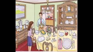 dining room english lesson youtube