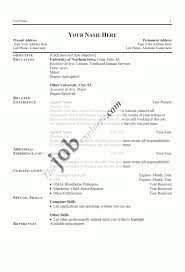 Free Basic Resume Builder Free Resume Outline Resume Template And Professional Resume