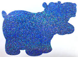holographic glitter holographic glitter the cool side of the pillow glitter hippo